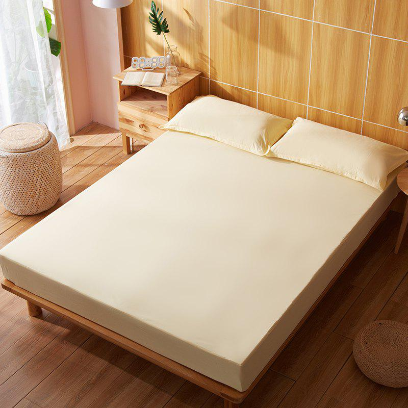 Outfit Full Cotton Pure Color Water Prevented Fitted Bed Sheet