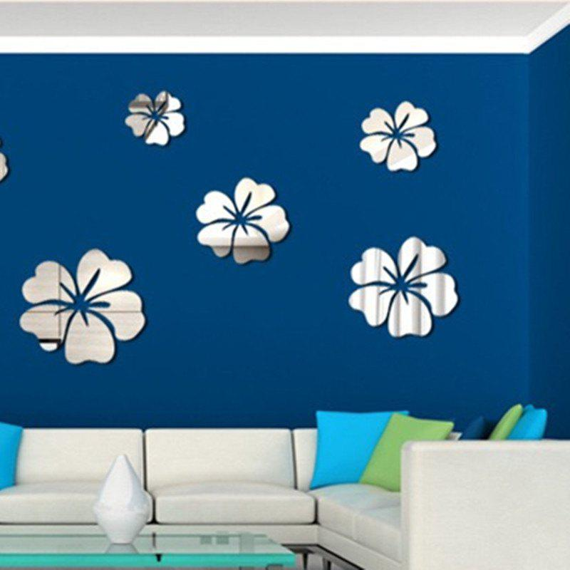 47 Off Hibiscus Flowers Decal Sticker Vinyl Wall Art Graphic Wall