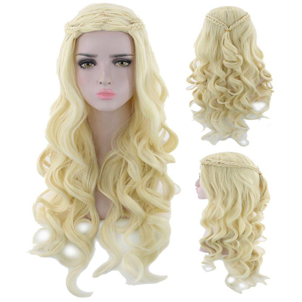 Cheap Stylish Cosplay Wig Gold Hair
