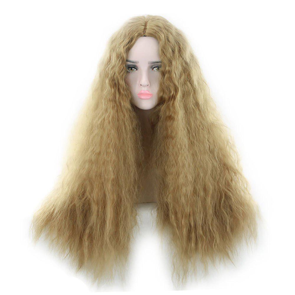 African Ringlet Wig Corn Beard Golden Hot Style Wig