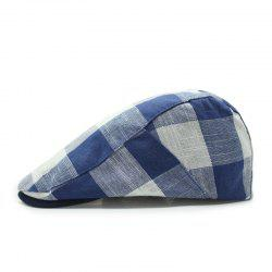 Spring and summer striped beret outdoor sun hat + adjustable for 56-58cm -