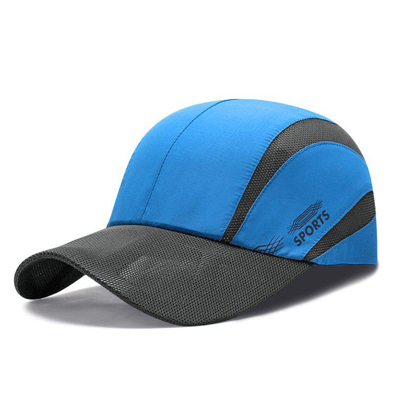 Cheap Summer light and breathable mesh baseball cap men and women outdoor quick-drying