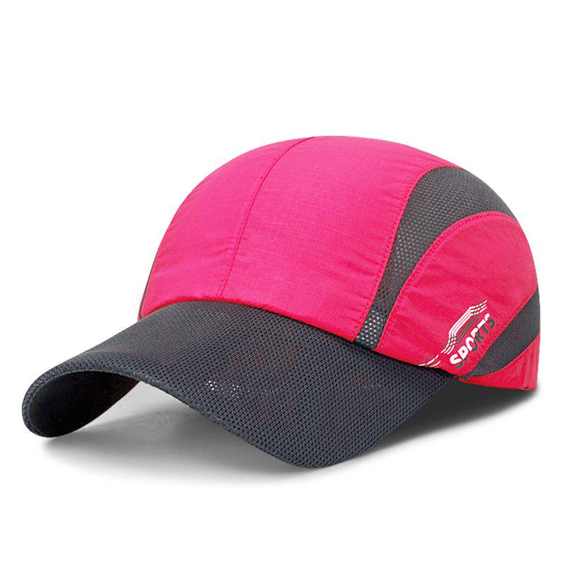 Fancy Summer light and breathable mesh baseball cap men and women outdoor quick-drying
