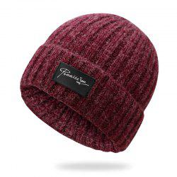 Autumn and winter knit hat winter warm headgear + size code for 56-60cm -