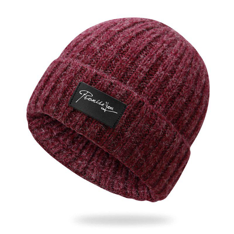 Sale Autumn and winter knit hat winter warm headgear + size code for 56-60cm