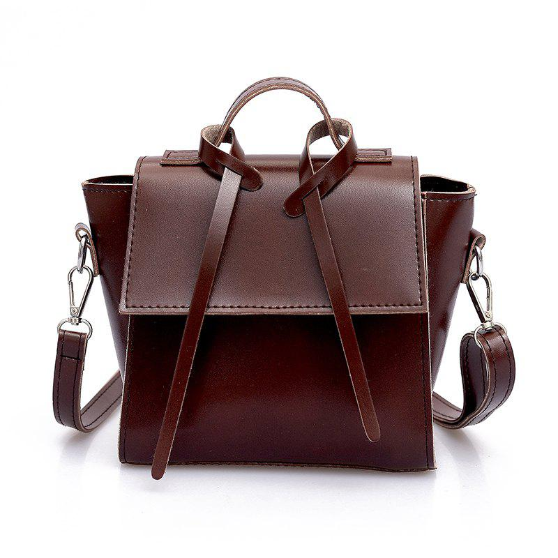 Outfits Vintage Single-Shoulder Slanted Straddle Bag for Ladies Handbag