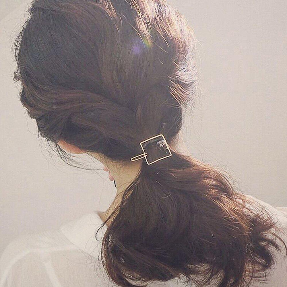 Hot Simple Atmosphere Square Hair Clip