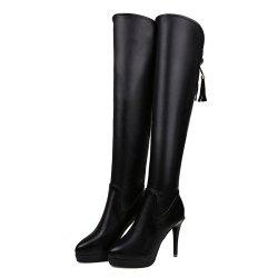 Women'S Boots with Narrow Heels and Cheshire Boots -