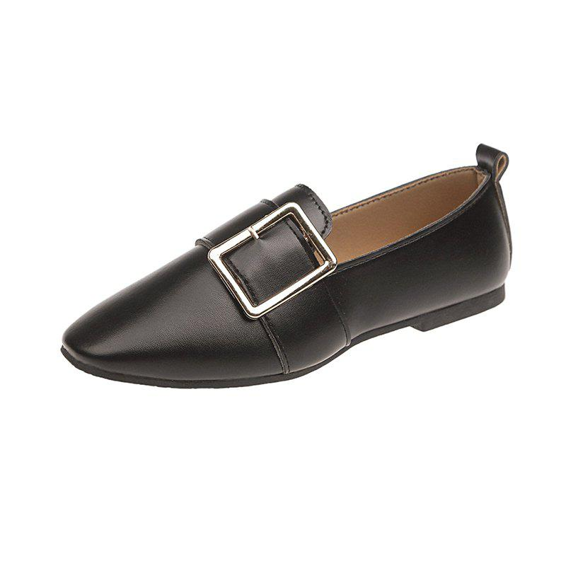 New Women'S Single Shoes Go Well with Low Heels