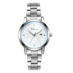 Chenxi 303L Luxury Stainless Steel Strap Wristwatch Quartz Watch for Women -
