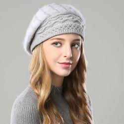 New Woman Fashion Korea Winter Double Knit Sweater Very Nice Warm Beret Hat -