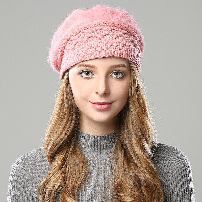 b834a4ae44 Best New Woman Fashion Korea Winter Double Knit Sweater Very Nice Warm  Beret Hat