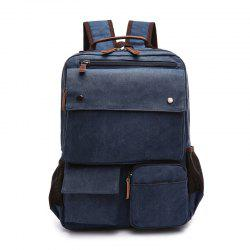 New Large Capacity Canvas Backpack Multi-functional Outdoor Men's Backpack -