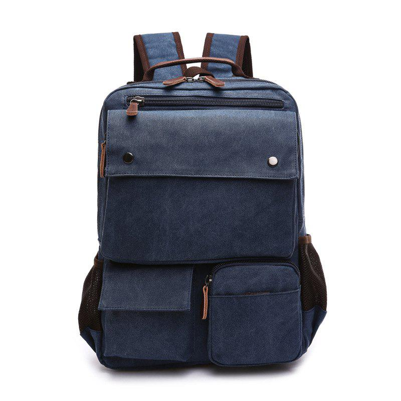 Cheap New Large Capacity Canvas Backpack Multi-functional Outdoor Men's Backpack