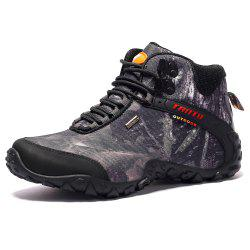 High-Top Outdoor Shoes Chaussures de randonnée Plus-Size Sports Shoes Chaussures de marche -