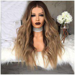 The WigMs. Long Hair Dyed The Gradient of Curly Hair Big Wavy Hair Wigs -