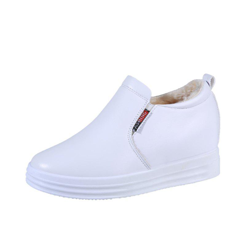 Outfits Newstyle Womens Single Shoes With Thick Sole And Velour