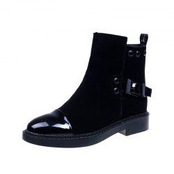 Lowheeled Flatbottomed Boots -