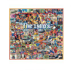 Movie Stars of The 1980S puzzle jouet -