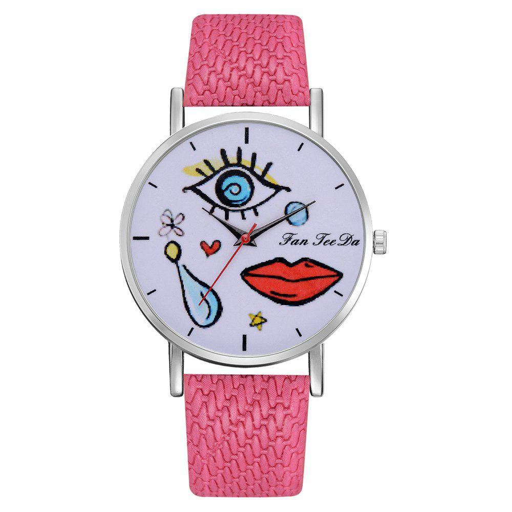Outfits The Fashion Leisure Fashion Leisure Trend Quartz Watch Table Female Students