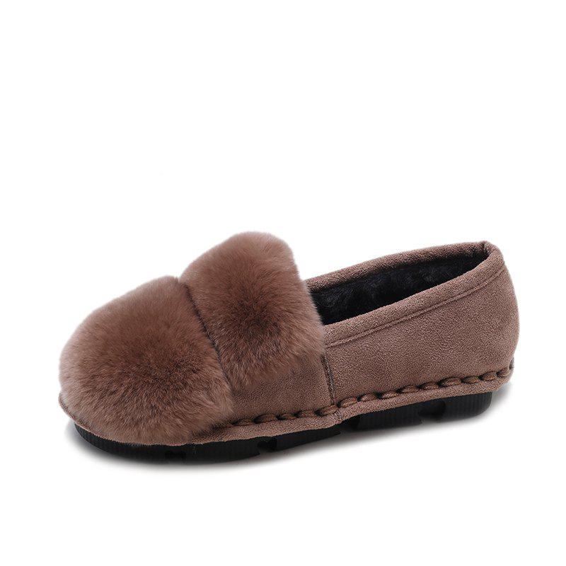 Affordable Comfortable Women'S Flats with Four Seasons of Suede