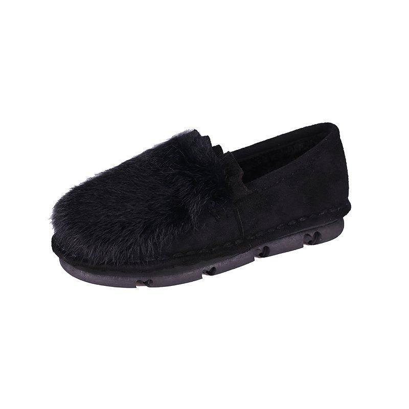 Chic New Maomaoshushi Four Seasons Flat Shoes Student Shoes
