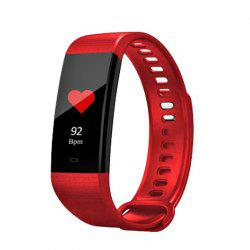 Color Screen Heart Rate Blood Pressure Monitoring IP67 Waterproof Smart Watch -