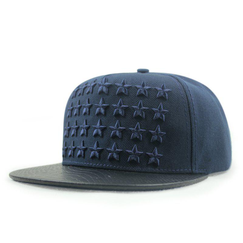 Best Pentagram embroidery ball cap men and women visor cap + adjustable for 55-60cm