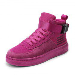 Fashion High Top Sneakers Canvas Shoes Women Casual Shoes White Flat Female -