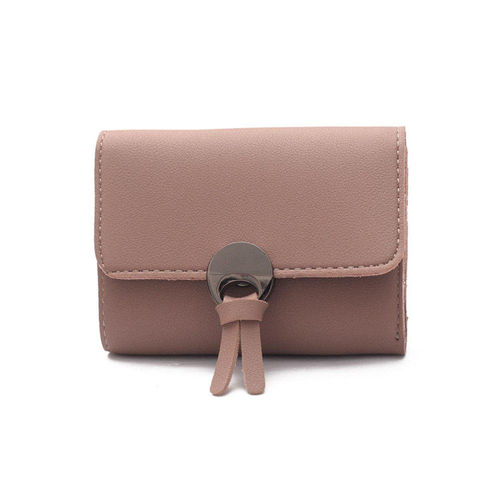 Chic Winter 2018 A lady's purse Female card bag