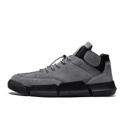 Chaussures homme - All-Match - Chaussures pour hommes - Tout noir, Chaussures Mode X018 -