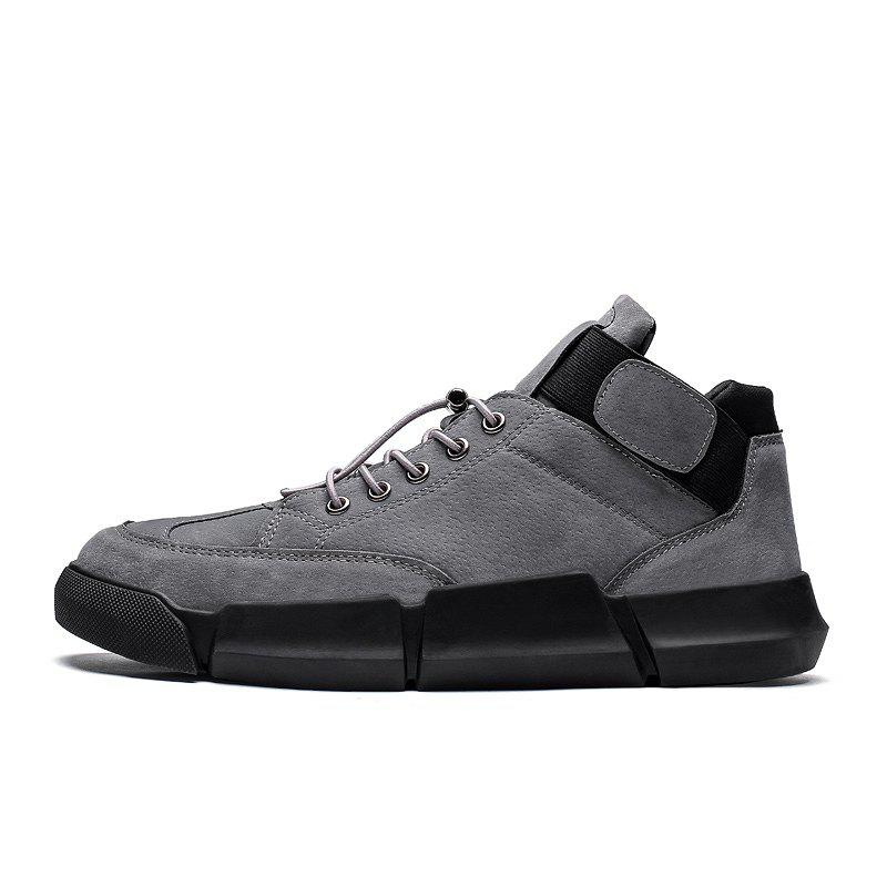 Chaussures homme - All-Match - Chaussures pour hommes - Tout noir, Chaussures Mode X018