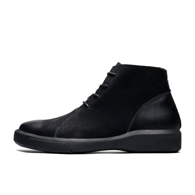 unequal in performance pick up search for genuine Big Size Men Boots Fashion Casual Winter Boots High Quality Men Shoes 89071