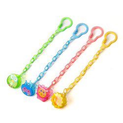 Baby's Pacifier Chains 4 Pcs Cute Cartoon Baby's Pacifier Chain -