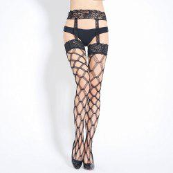 Mode Sexy Cross Hold Up Hauts De Cuisse Bas Collants Filles Longs Stocks -