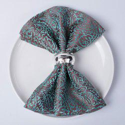 Christmas napkin cloth  Fold flowers and wipe cup clothTablecloth for hotel din -