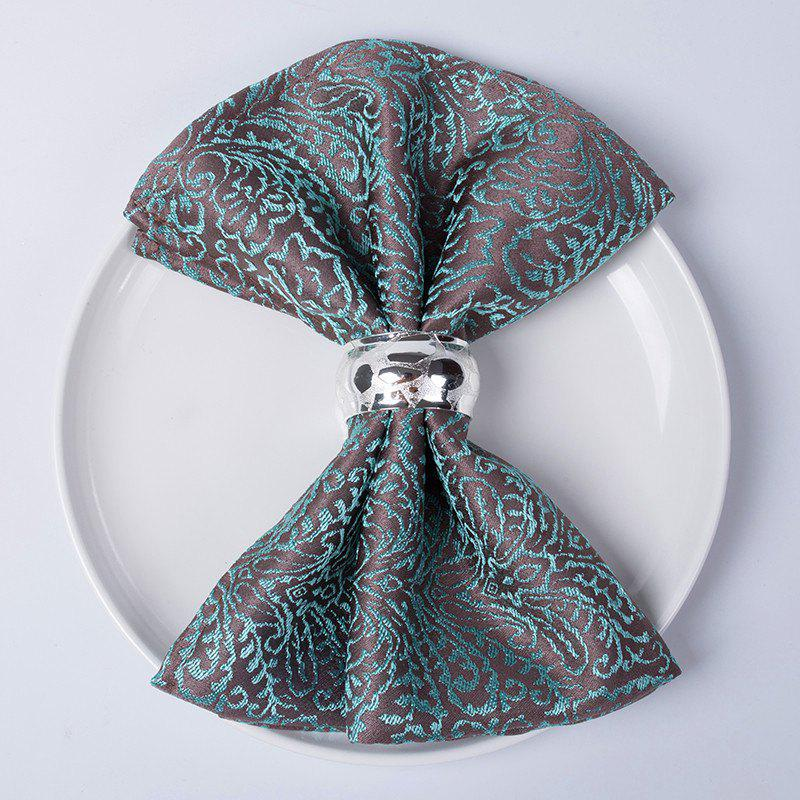 New Christmas napkin cloth  Fold flowers and wipe cup clothTablecloth for hotel din