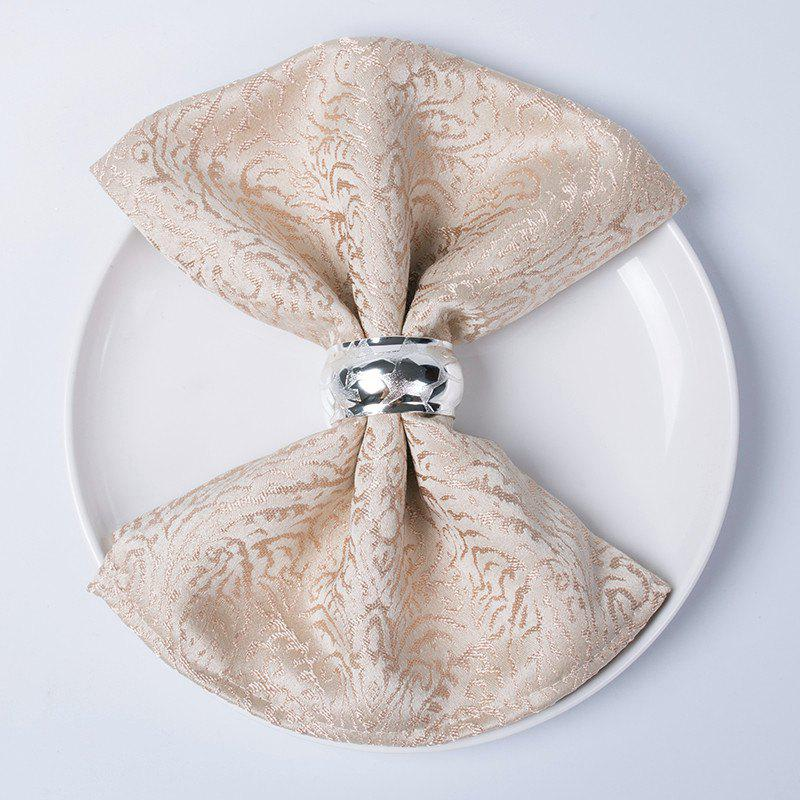 Outfit Christmas napkin cloth  Fold flowers and wipe cup clothTablecloth for hotel din