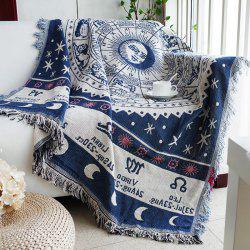 European Geometry Throw Blanket Sofa Decorative Slipcover -