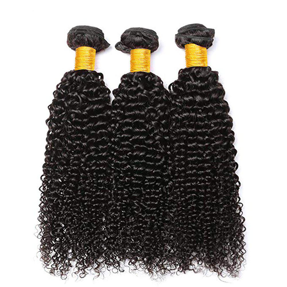 Outfits Curly Human Hair 3 Bundles 8A Brazilian Remy Kinky Curly Hair Extension