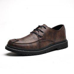 Men'S Low-Cut Shoes British Wind Business Shoes Dress Tide Shoes -