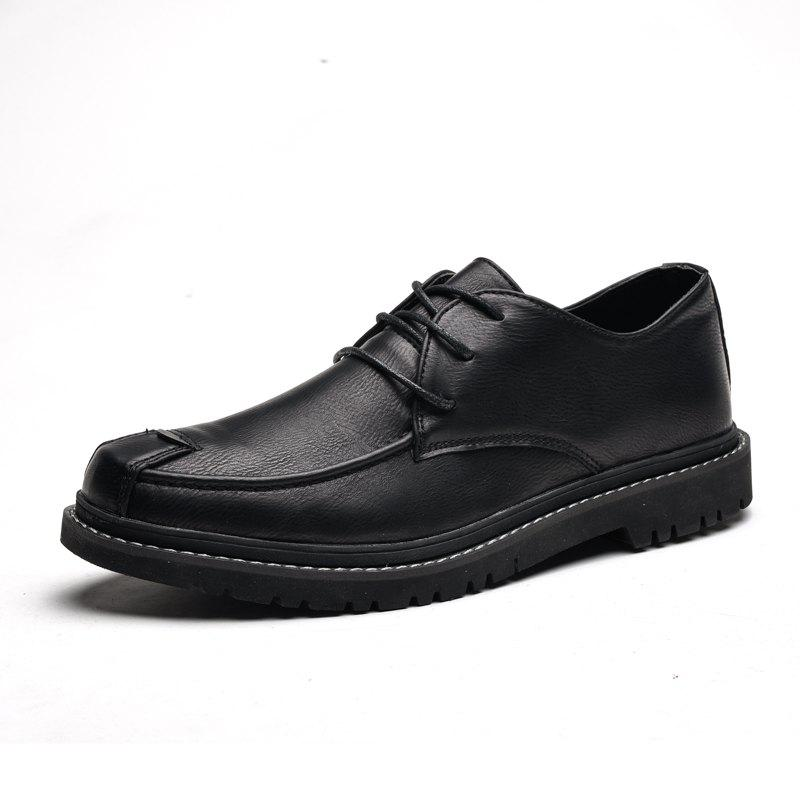 Chic Men'S Low-Cut Shoes British Wind Business Shoes Dress Tide Shoes