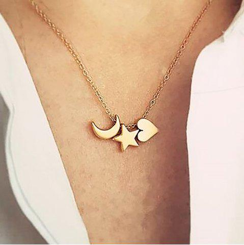 New Boho Jewelry Necklaces for Women Sexy Horn Fashion Gold Pendant Necklace