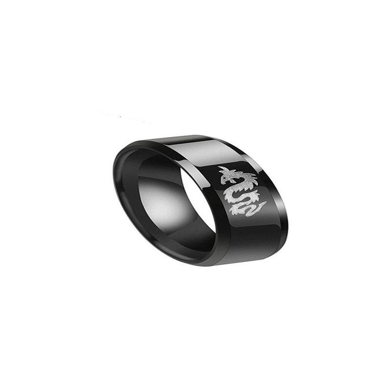 Best Simple Men's Personality Male Tyrant Ring