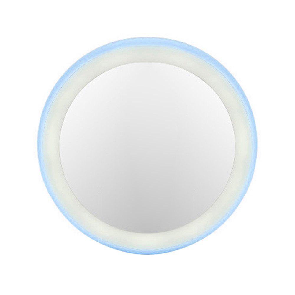 Affordable Portable  LED Makeup Mirror Round Travel Pocket Cosmetic Mirrors