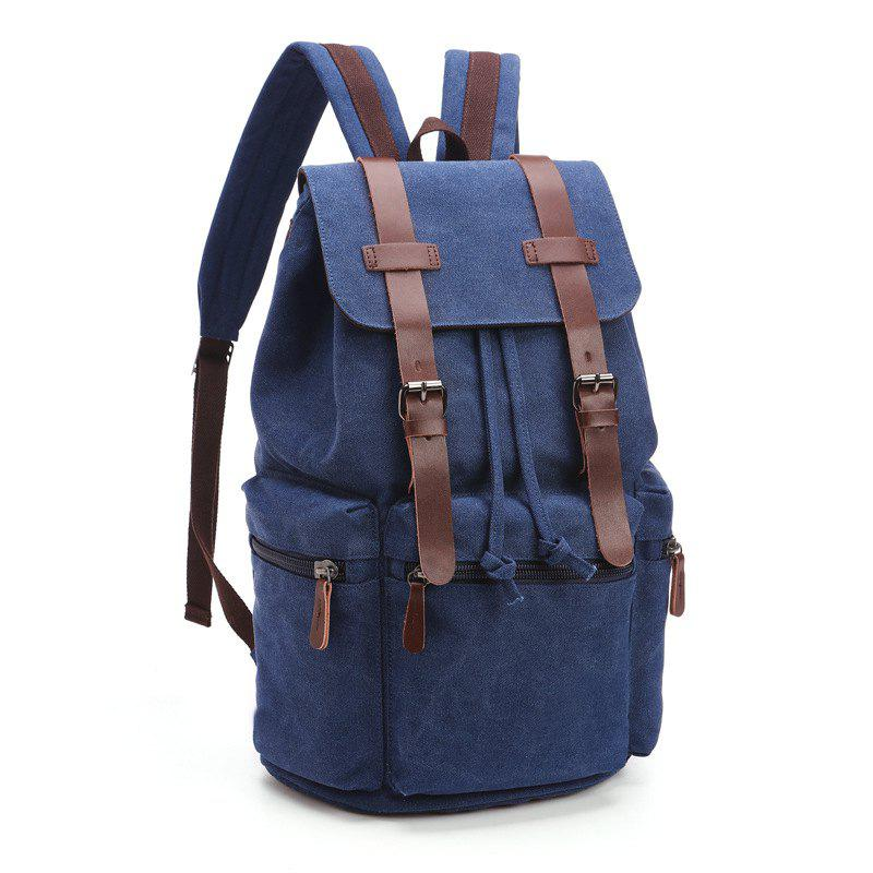 Sale Retro Men And Women Canvas Bag Casual Fashion Computer Backpack