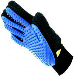 Pet Hair Glove Comb Dog Cat Grooming Cleaning 1 PC -