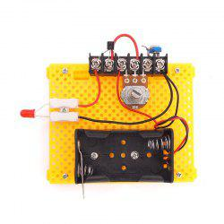 DIY Polarless Dimmer Children Science Education Toy -