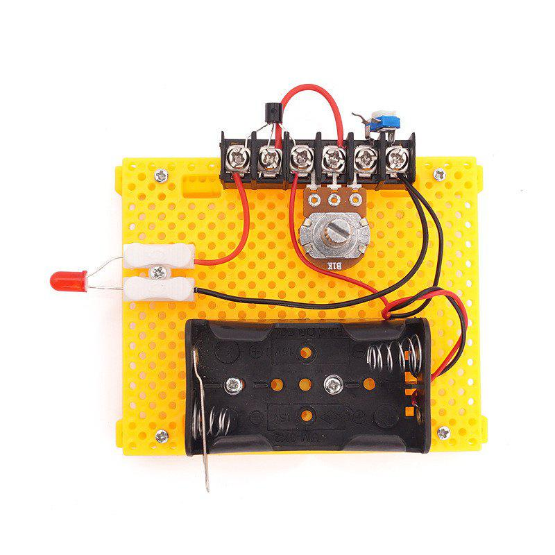 DIY Polarless Dimmer Children Science Education Toy