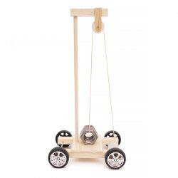 DIY Gravity Vehicle Experimental Children Science Education Toy -